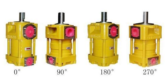 SUMITOMO QT3223 Series Double Gear Pump QT3223-12.5-4F